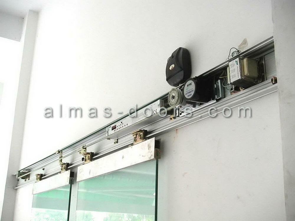 نصب اپراتور درب شیشه ای