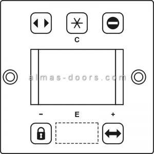 کلید تغییر حالت درب اتوماتیک