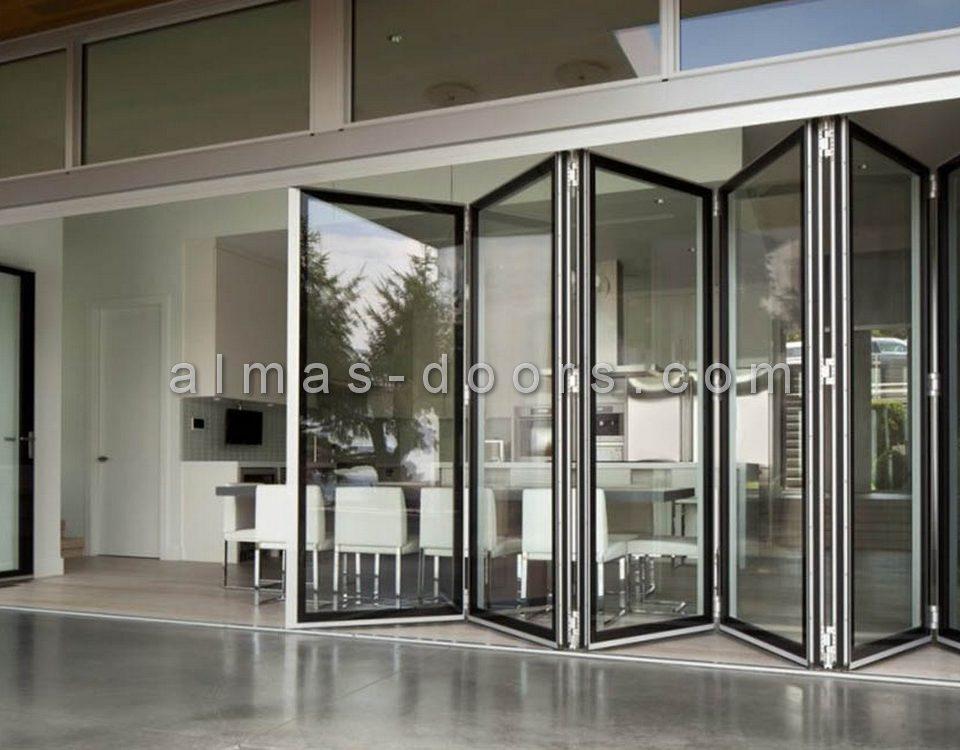 فروش درب شیشه ای فولدینگ